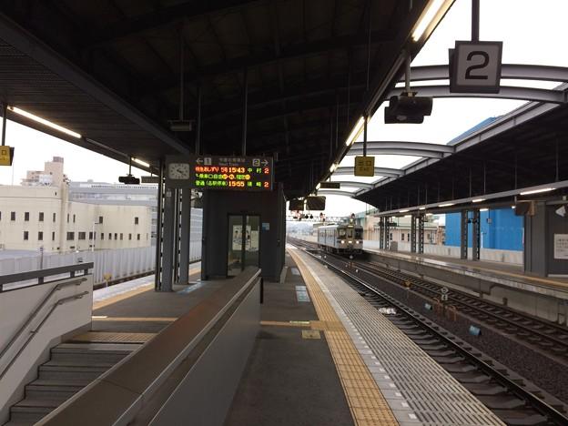 高知駅ホーム ~須崎・窪川方面~