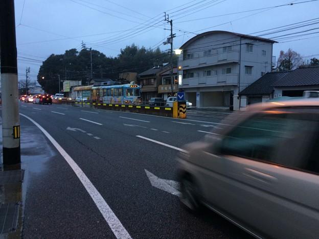 鏡川橋電停