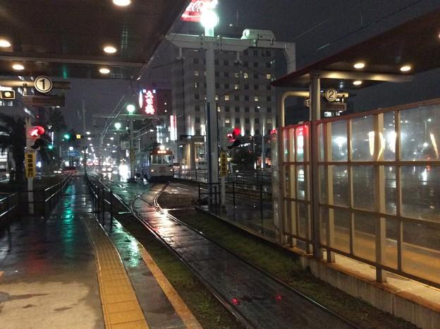 再び、高知駅前電停