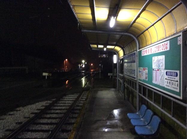 清和学園前電停より南国市内、一条橋方面を望む