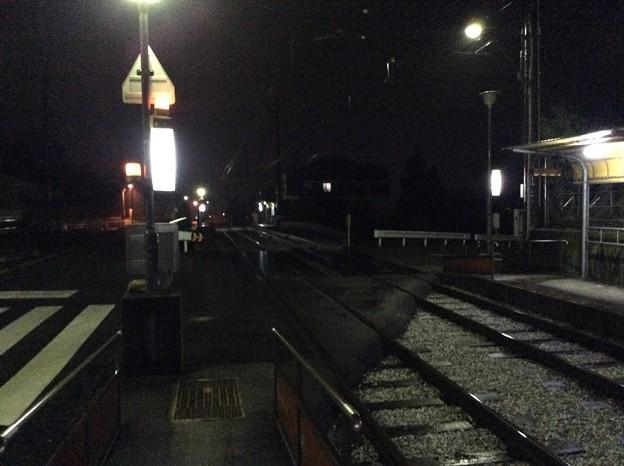 駅間は60m? らしい。