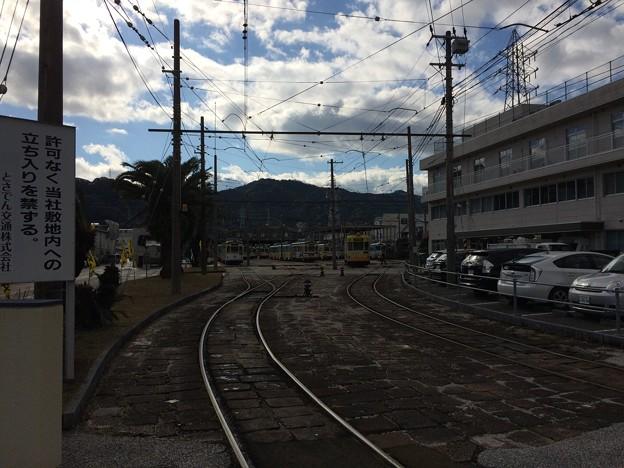 土佐電気鉄道 車庫