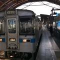 土佐山田行き普通列車
