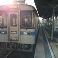 土佐山田駅に到着