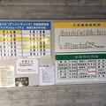 Photos: 土佐山田駅 アンパンマンミュージアム方面バス時刻表