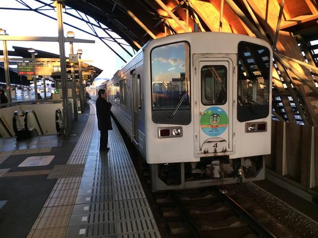カッパマークの列車