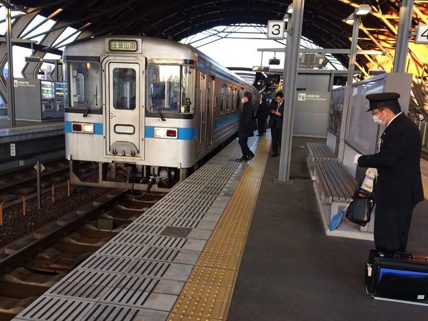 普通列車土佐山田行き