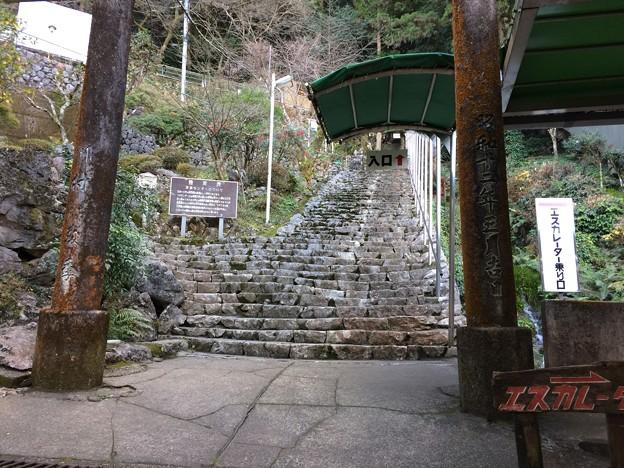 龍河洞入口