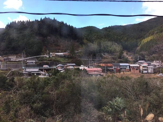 角茂谷駅からの車窓