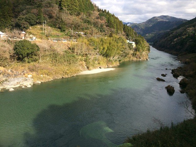 土讃線から見た吉野川1