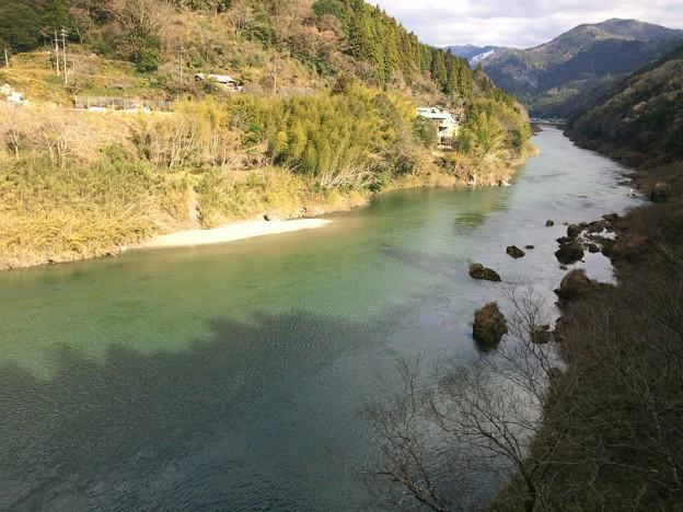 土讃線から見た吉野川2