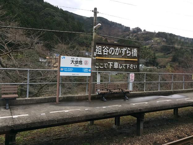 大歩危駅1