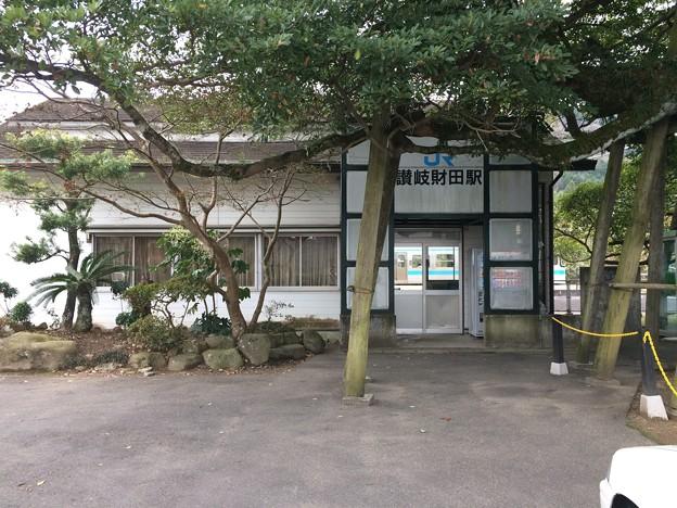 讃岐財田駅4