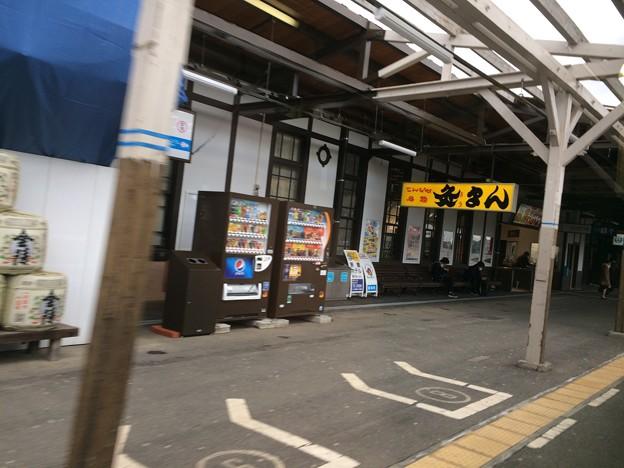 琴平駅 到着