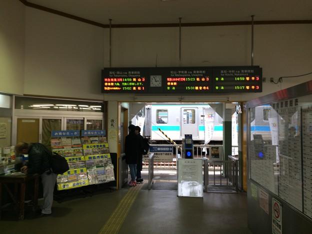 多度津駅8 ~改札~