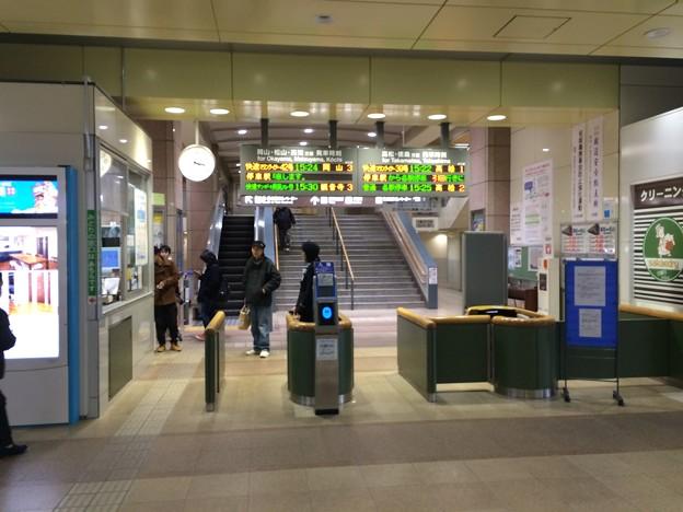 坂出駅5 ~改札~