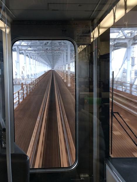 瀬戸大橋線 岡山方面を望む