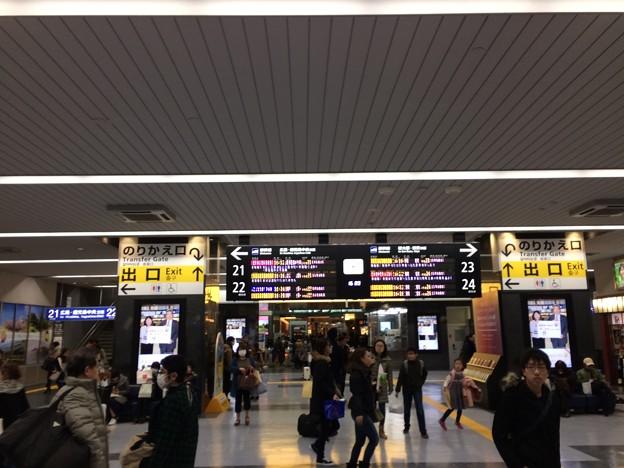 岡山駅新幹線乗換