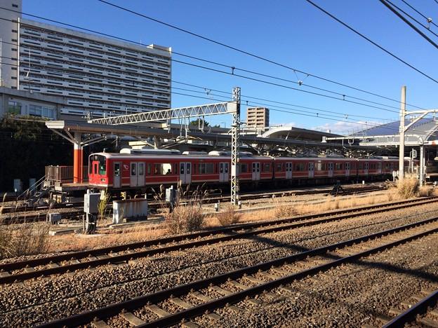 小田原駅箱根登山鉄道ホーム