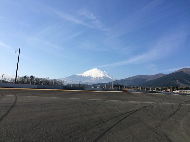 ママチャリGP2 ~富士スピードウェイから見た富士山~