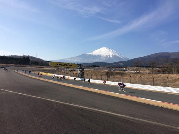 ママチャリGP4 ~富士スピードウェイから見た富士山2~