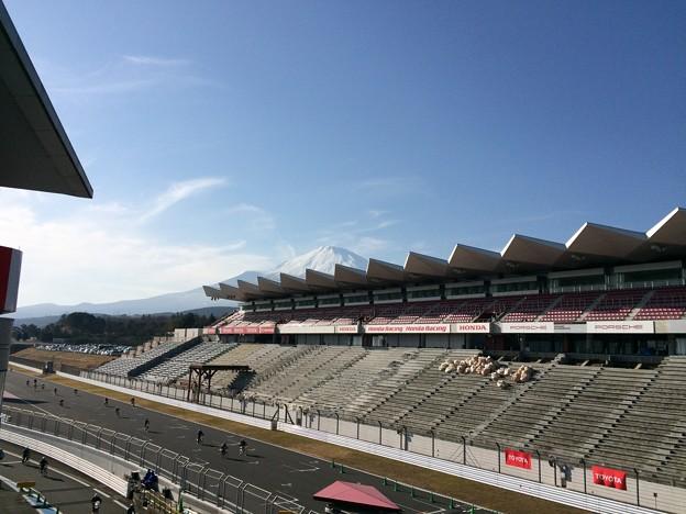 ママチャリGP11 ~富士スピードウェイから見た富士山4~