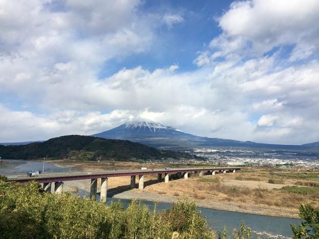 富士川サービスエリアより 2017