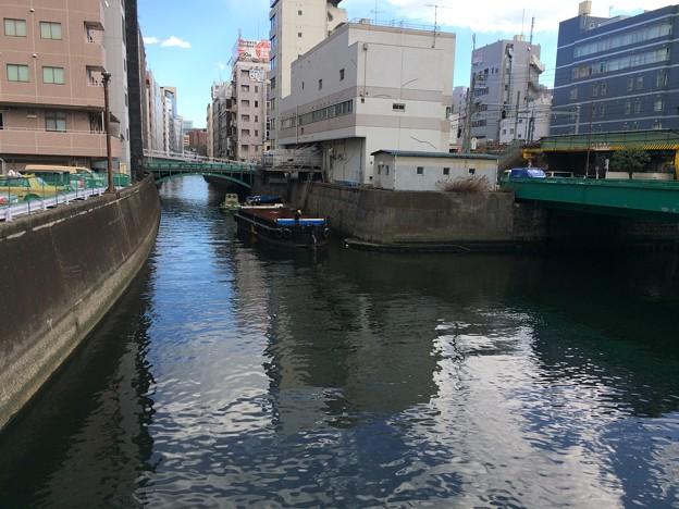 東京の川と舟