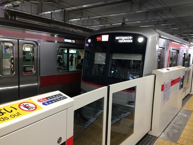 菊名駅で乗換