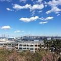 横浜 海の見える丘公園からの眺め2