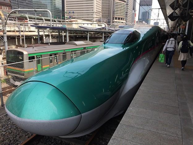 2017はやぶさ@東京駅1