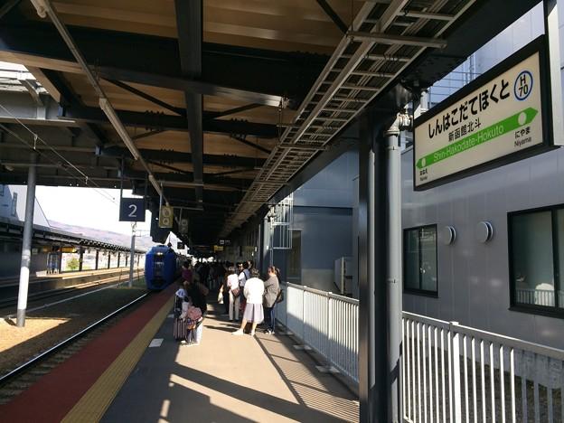 札幌行き特急 入線