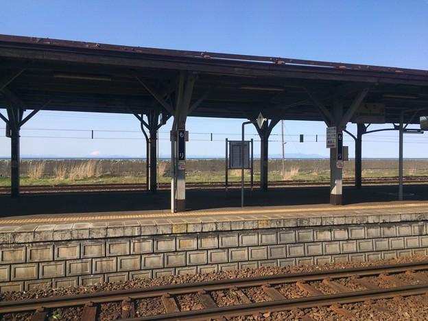 特急列車 森駅発車