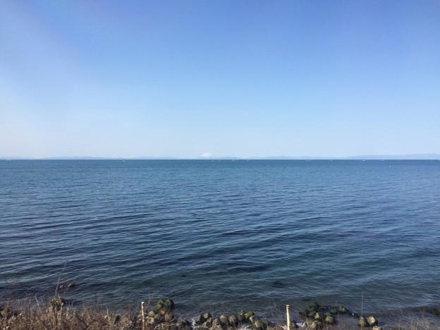 函館本線の車窓 噴火湾2