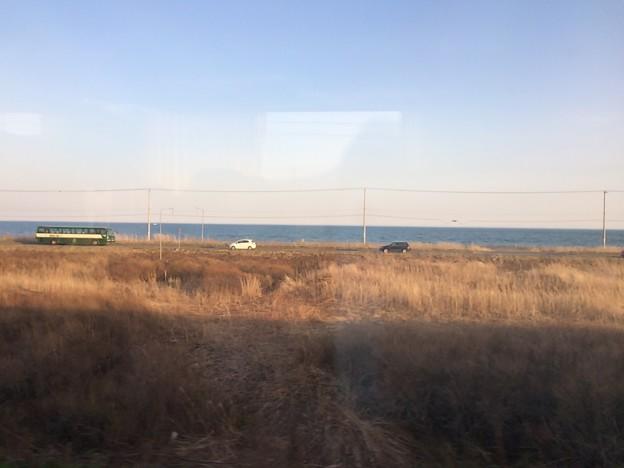 函館本線の車窓5 ~苫小牧~