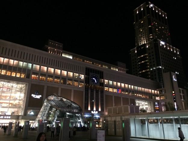 2017札幌駅 夜