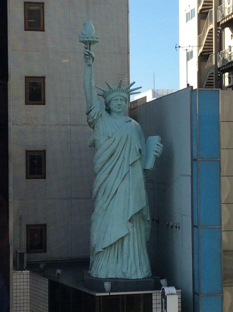 まさかの自由の女神