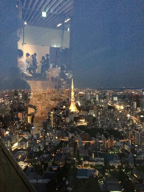 六本木ヒルズから東京タワーが見える?