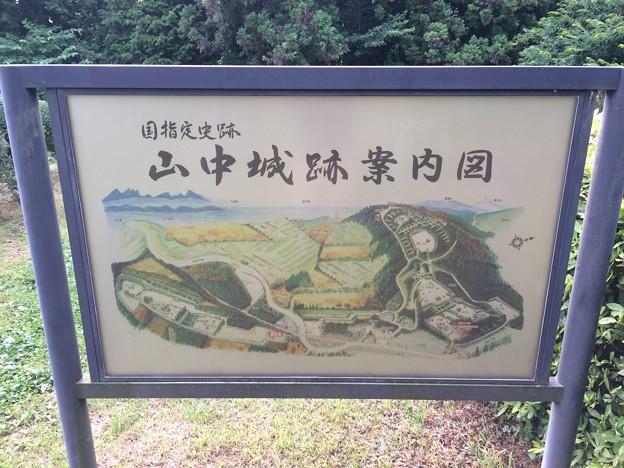 2017山中城址14 ~山中城跡案内図~