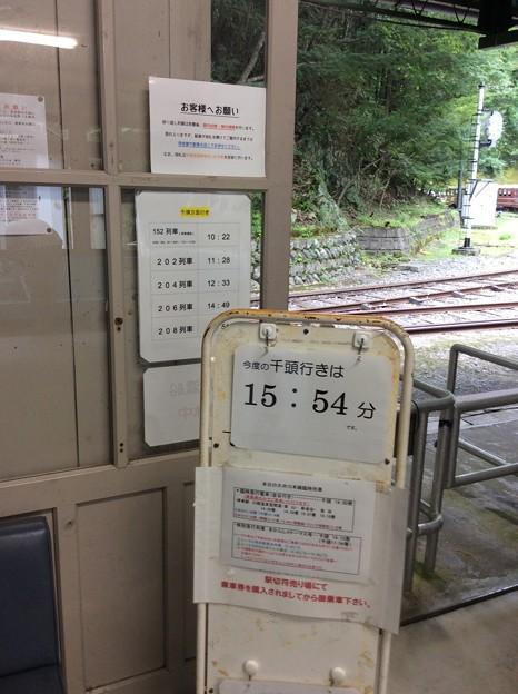 大井川鐵道井川線井川駅8