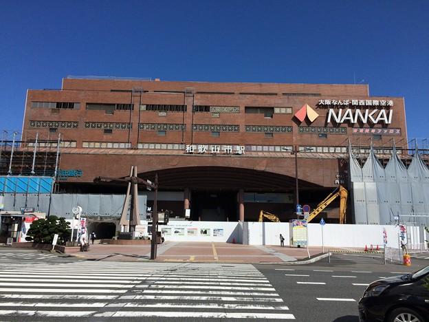 和歌山市駅に到着