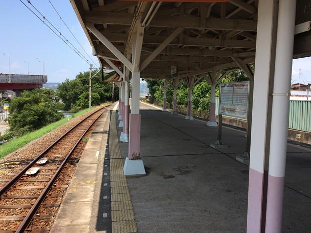 和歌山港駅 進行方向