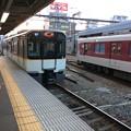 Photos: 阪神電鉄尼崎駅に到着