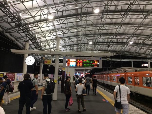 阪神甲子園駅 大阪梅田方面ホーム