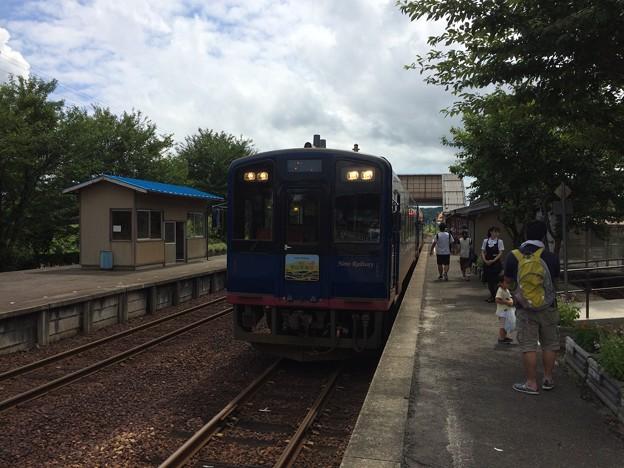 能登中島駅3 ~のと里山里海3号停車中~