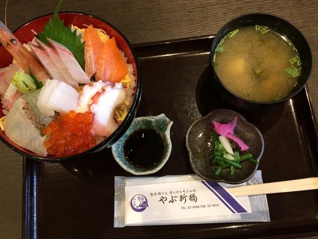 Photos: 輪島 やぶ新橋 海鮮丼