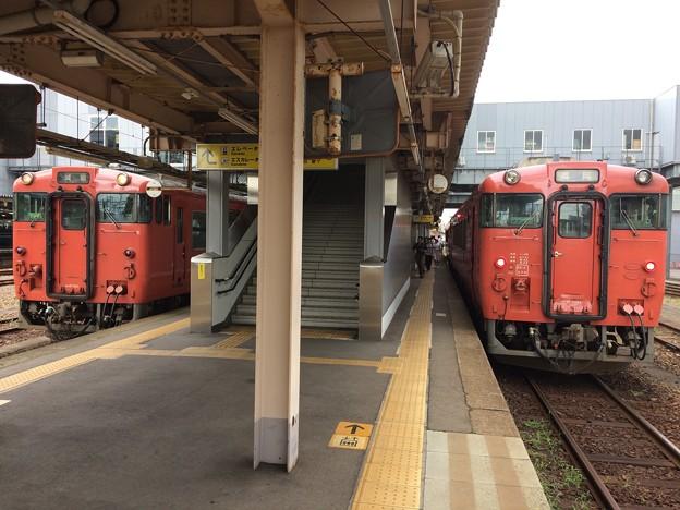 高岡駅に戻る