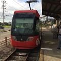 Photos: 越ノ潟駅に到着