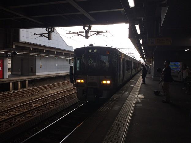 泊行き普通電車