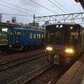 Photos: 魚津駅にて下車